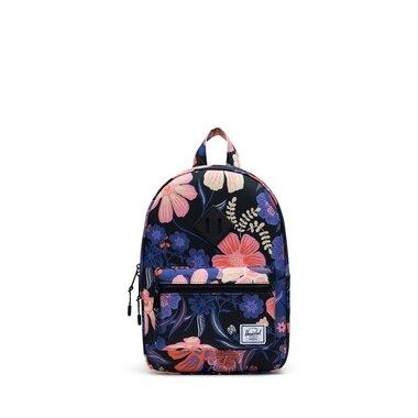 Herschel Heritage Kids Backpack Night Floral Black