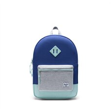Herschel Heritage Youth Backpack Orient Blue/Light Grey Crosshatch/Eggshell Blue