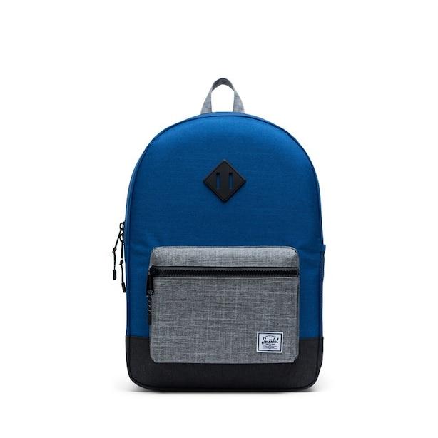 Herschel Heritage Youth X-Large-Monaco Backpack Blue Black Crosshatch