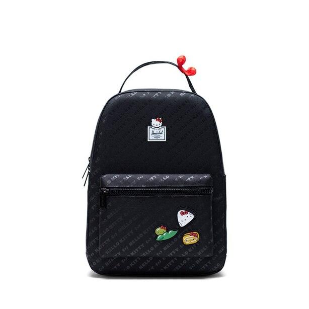 Herschel Hello Kitty Nova Mid-Volume Backpack Black Bento Box