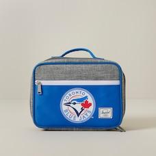Pop Quiz Lunch Box-Raven Crosshatch/Blue Jays Blue