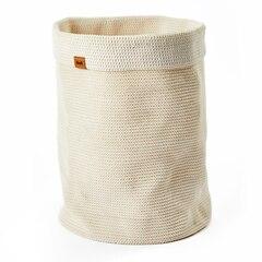 Panier à lessive Rollo — Crème