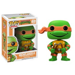 POP TV Teenage Mutant Ninja Turtles Vinyl Figure - Michelangelo