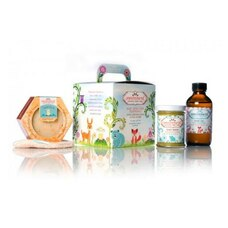 anointment Baby Skin Care Essentials Gift Set Rash Cream, Soap, Oil