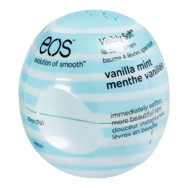 EOS Visibly Soft Lip Balm Sphere Vanilla Mint