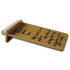 Tableau en bambou à essuyage à sec
