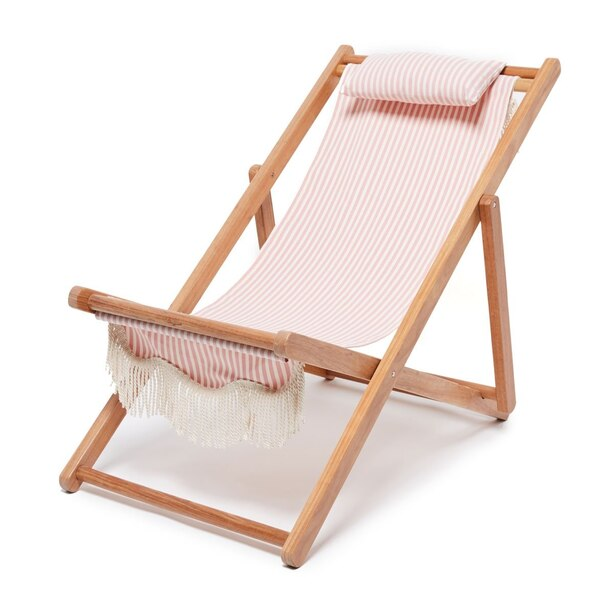 BUSINESS & PLEASURE SLING CHAIR LAUREN'S PINK STRIPE