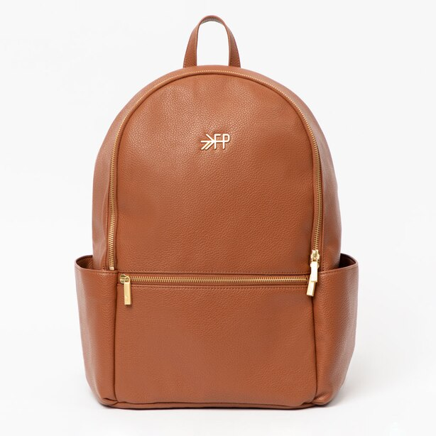 Freshly Picked Classic City Pack Cognac