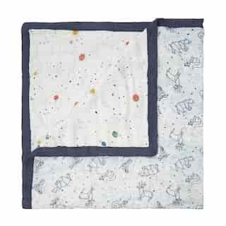 aden + anais® White Label Silky Soft Blanket Stargaze