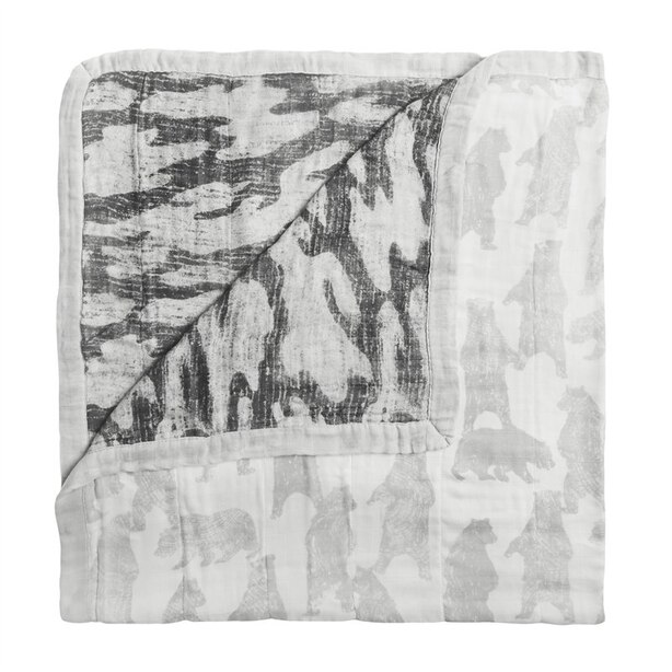 SILKY SOFT DREAM BLANKET, FORAGERS