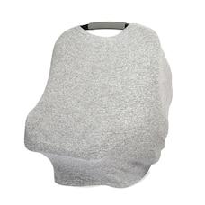 Gris chiné - housse multi-usage en tricot snuggle