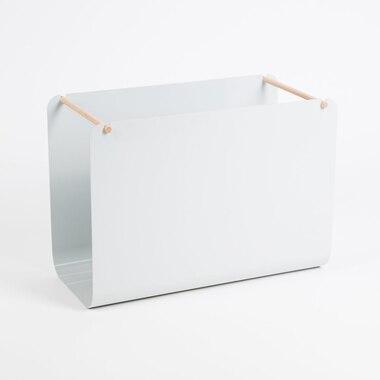Arc Metal Hanging File Basket Grey