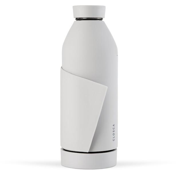 CLOSCA WATER BOTTLE WHITE NUDE 420ML