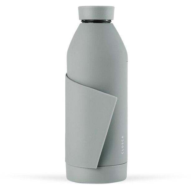 CLOSCA WATER BOTTLE GREY NUDE 420ML