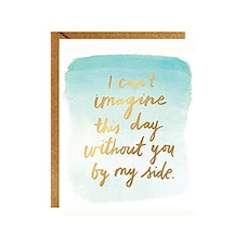 Can't Imagine This Day Without You Stationery Set Set of 10