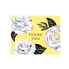 Thank You Cards Camellia Floral