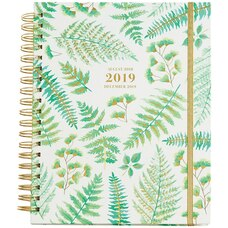 2018-2019 17-MONTH WEEKLY SPIRAL PLANNER - BRANCHES