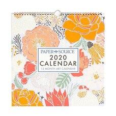 2020 Wall Calendar Art Grid