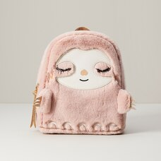 Under1Sky Mini Faux Fur BackpackAlyssa The Sloth