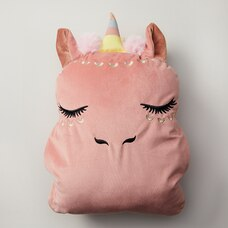 Under1Sky Throw Pillow and Blanket Set - Unicorn