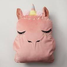 Under1Sky Throw Pillow and Blanket Set - Unicorn