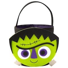 Felt Halloween Basket, Frankenstein