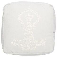 Zafu Meditation Pillow – I am Whole, Square