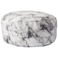 Zafu Meditation Pillow – Grey Marble