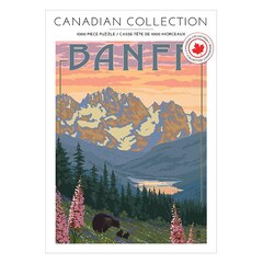 Andrews and Blaine LTD® Canadian Collection Puzzle 1000 Pieces Banff (Indigo Exclusive)