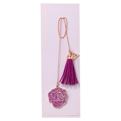 Tassel Bookmark - Bloom Baby - Purple