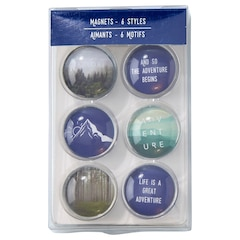 Magnet Set - Adventure Calling - Blue
