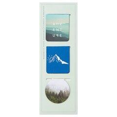 Magnetic Bookmark - Adventure Calling -  Blues