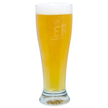 Pilsner Glass – Smile There's Beer