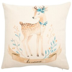 "Baby Deer Pillow Cover – 18"" x 18"""