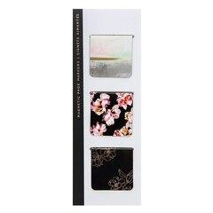 Magnetic Bookmark - Gilded Winterlude Blacks - Set of 3
