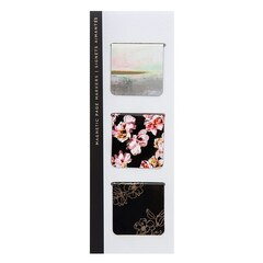 Magnetic Bookmark - Gilded Winterlude Blacks - Set of 3