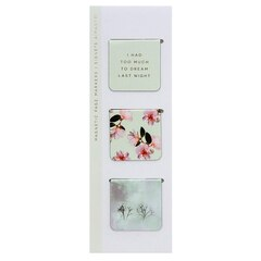 Magnetic Bookmark - Gilded Winterlude Mints - Set of 3