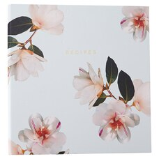 RECIPE BINDER MARQUIS FLORAL
