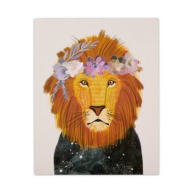 """LION ART PRINT - 8"""" X 10"""""""