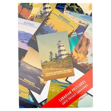 CANADIAN POSTCARDS SET OF 13