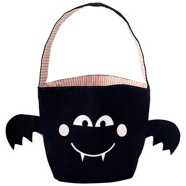 Andrews + Blaine Ltd® Halloween Tote Basket Bat