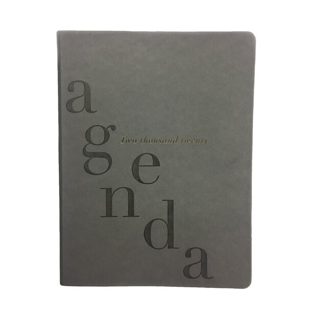 2020 12-Month Planner Leatherette