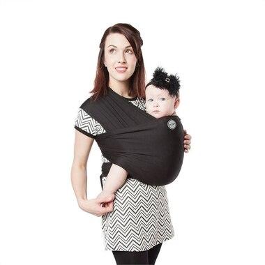 Écharpe porte-bébéé Moby classique – Noir