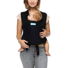 Moby Fit 2-in-1 Grow with Baby Carrier and T-Shirt 100% Cotton Black