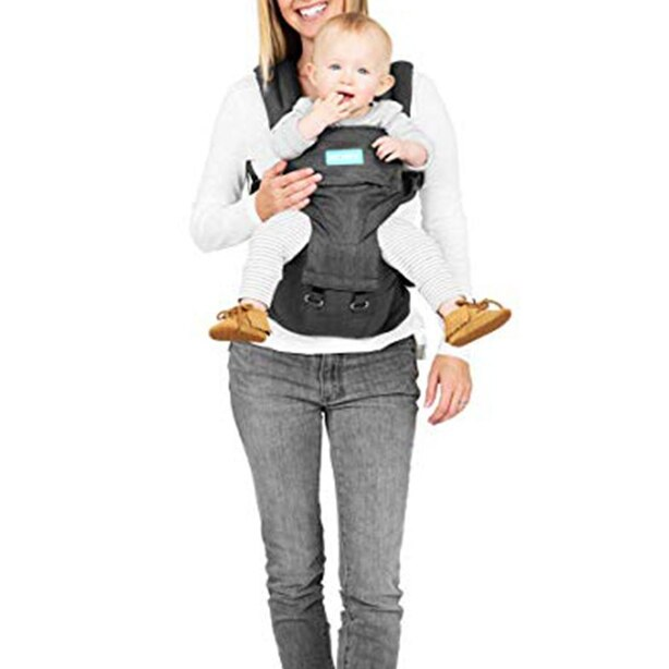 Moby® 2-in-1 Grow with Baby Carrier and Hip Seat 100% Cotton