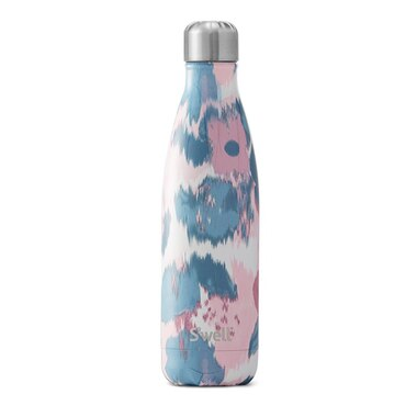 S'WELL WATERCOLOR LILLIES WATER BOTTLE - 17OZ