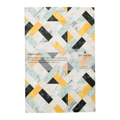 Octaevo Marble Notes Notebook - Yellow