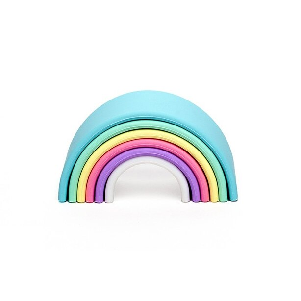 Dena PASTELS - Rainbow Silicone Toy