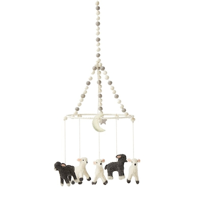 Hand Crafted Lamb Mobile by Pehr Design