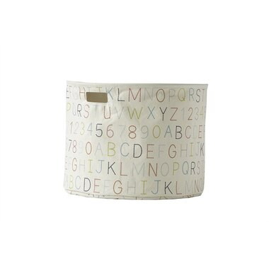 Pehr Storage Drum Alphabet Large 20''d x 15''h